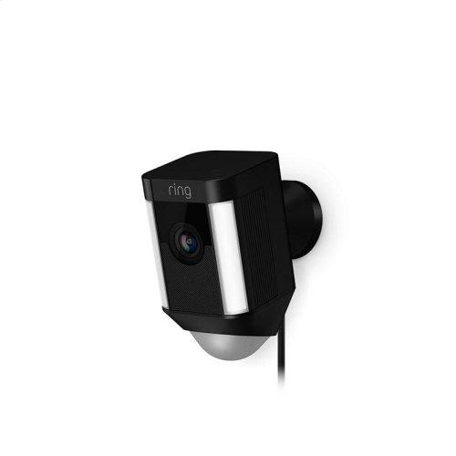 Spotlight Cam Wired - Black