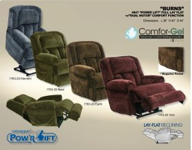 "Power Lift Full Lay Flat w/ ""Dual Motor"" Comfort Function - Element"