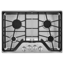30-inch 4-burner Gas Cooktop with DuraGuard Protective Finish