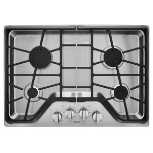 Maytag30-inch Wide Gas Cooktop with DuraGuard Protection Finish
