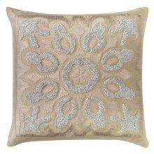Cassandra Pillow, DRIFTWOOD, 22X22