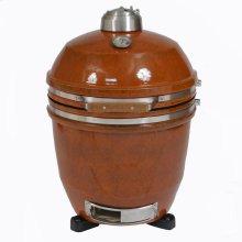 "Heat 19"" Ceramic Kamado Grill with Build Kit"