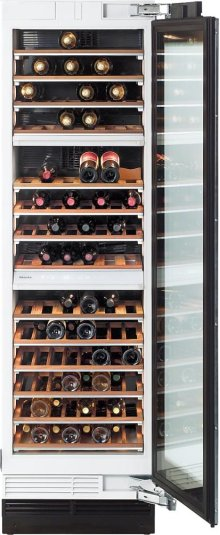 KWT 1603 SF MasterCool Wine Temperature Control Unit for optimum conditioning, thanks to different zones and Miele TouchControl.