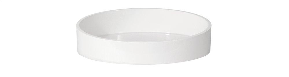 Albano round countertop basin