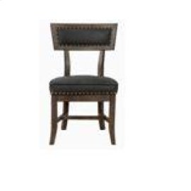 Rustic Black Dining Chair