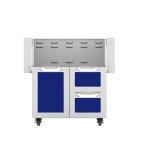 """Hestan30"""" Hestan Outdoor Tower Cart with Door/Drawer Combo - GCR Series - Prince"""