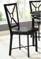 Diamond Black Chair Product Image