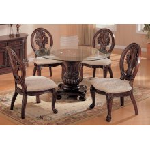 "Paxton 48"" Round Glass Dining Table Top"