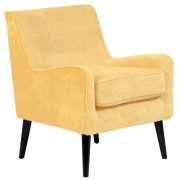 Kristina Daisy Yellow Accent Chair, AC196 Product Image