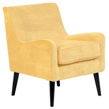 Kristina Daisy Yellow Accent Chair, AC196