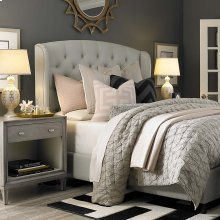 Twin Custom Uph Beds Paris Arched Winged Bed