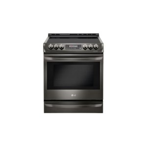 LG AppliancesLG Black Stainless Steel Series 6.3 cu. ft. Electric Slide-in Range with ProBake Convection(R) and EasyClean(R)