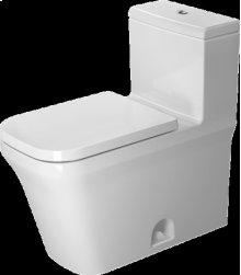 White P3 Comforts One-piece Toilet Duravit Rimless®