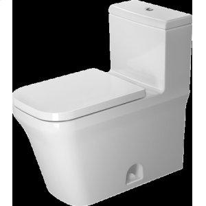 White P3 Comforts One Piece Toilet Duravit Rimless