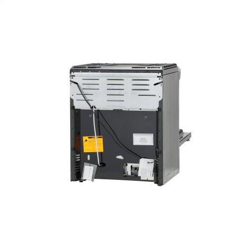 "GE® 30"" Slide-In Front Control Gas Range"
