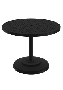 "Boulevard 36"" Round KD Pedestal Dining Umbrella Table"