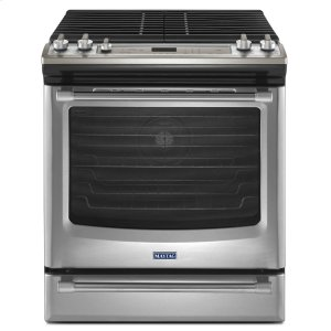 MAYTAG30-inch Gas Range with Convection and Fit System - 5.8 cu. ft.