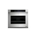 "DACOR Distinctive 30"" Single Wall Oven in Stainless Steel with Flush Handle"