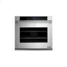 "Distinctive 30"" Single Wall Oven in Black Glass - ships with Epicure Style black handle. Product Image"