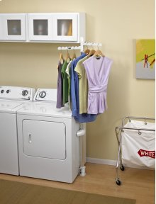 Laundry Appliance Hanger Rack