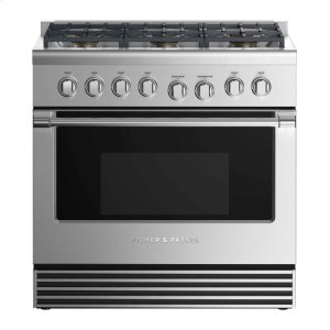 "Fisher & PaykelGas Range 36"", 6 Burners"