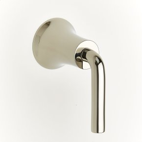 Polished Nickel River (Series 17) Volume Control and Diverters