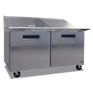 HoshizakiRefrigerator, Two Section Mega Top Prep Table