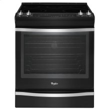 Whirlpool 6.2 cu. ft. Front-Control Electric Range with TimeSavor Plus True Convection