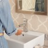 Times Square 1-Handle Monoblock Faucet - Brushed Nickel