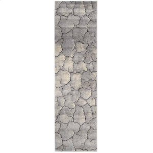 Utopia Utp06 Granite Runner 2'3'' X 8'