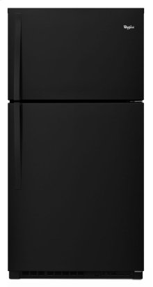 "Whirlpool® 33"" Wide Top-Freezer Refrigerator with Optional EZ Connect Icemaker Kit"