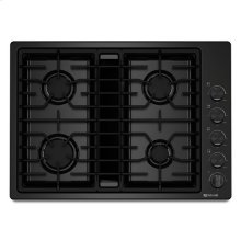 "Jenn-Air® 30"" JX3™ Gas Downdraft Cooktop - Black"