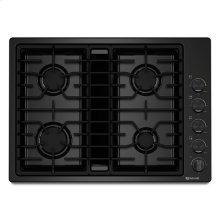 "Jenn-Air® 30"" JX3™ Gas Downdraft Cooktop - Black"