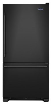 30-Inch Wide Bottom Mount Refrigerator - 19 Cu. Ft. Product Image