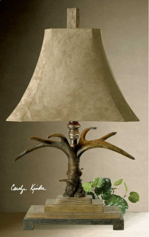 Stag Horn Table Lamp