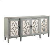 Lawrence Cabinet In Grey-blue Product Image
