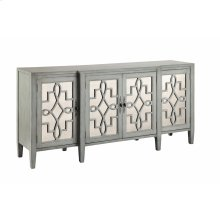 Lawrence Cabinet In Grey-blue