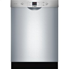 24' Recessed Handle Dishwasher 300 Series- Stainless steel