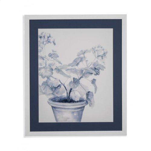 Blue Geranium I