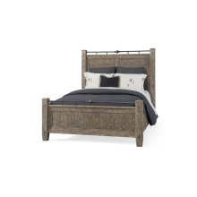 451-050 QBED Riverbank Queen Bed Complete