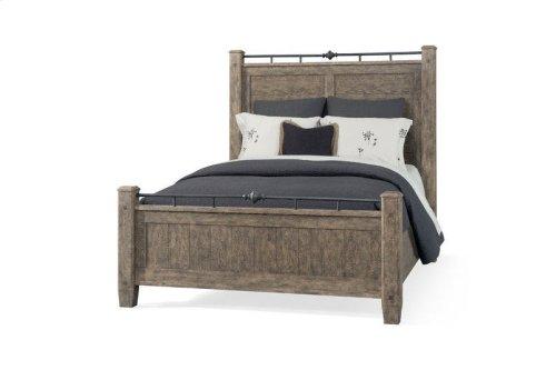 451-050 QBED Riverbank Queen Bed Complete