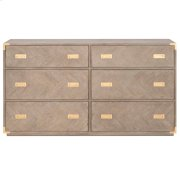 Voyage 6-Drawer Double Dresser Product Image