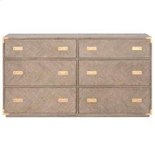 Voyage 6-Drawer Double Dresser