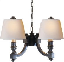 Visual Comfort MS5020BZ-NP Michael S Smith Eiffel 4 Light 22 inch Bronze Chandelier Ceiling Light