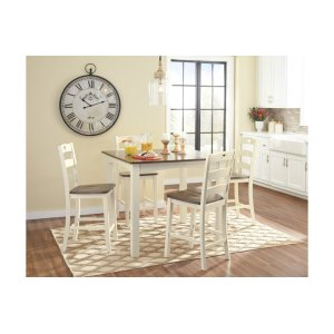Ashley FurnitureSIGNATURE DESIGN BY ASHLEYSquare Counter Tbl Set (5/cn)