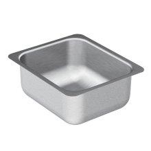 """2000 Series 12""""x14"""" stainless steel 20 gauge single bowl sink"""