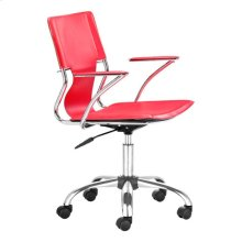 Trafico Office Chair Red