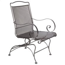 Coil Spring Dining Arm Chair