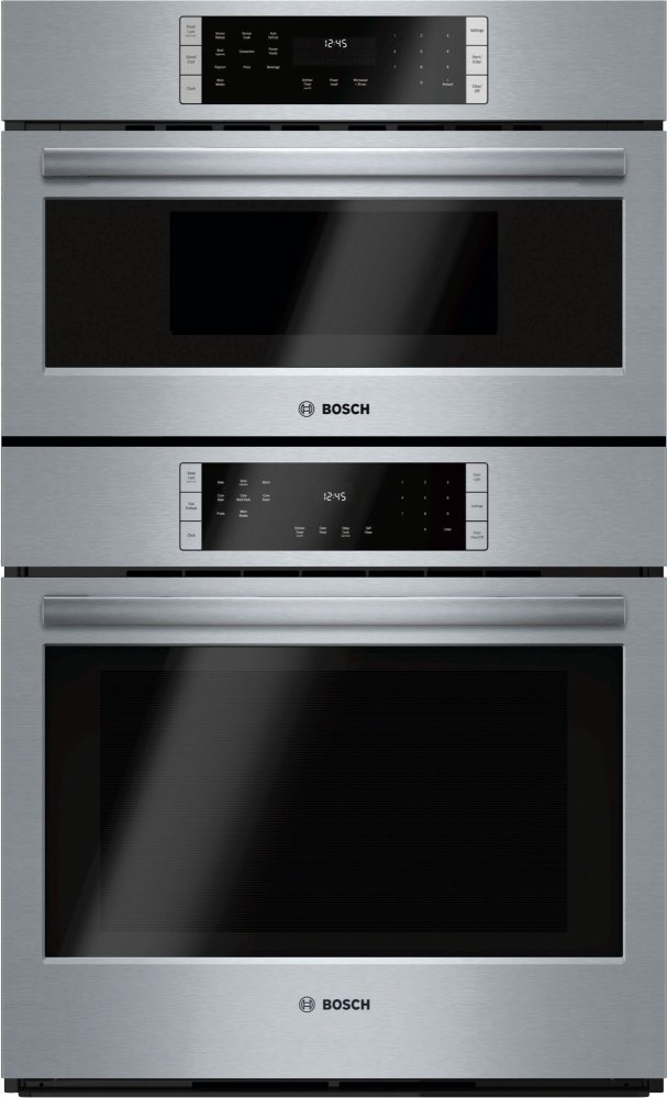 "800 Series, 30"" Combo, Upper: Microwave, Lower: EU Conv, Touch Control