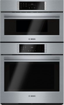 """800 Series, 30"""" Combo, Upper: Microwave, Lower: EU Conv, Touch Control"""